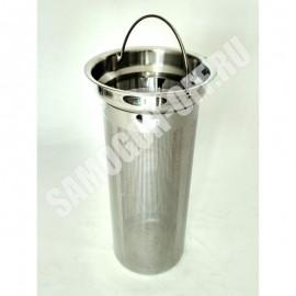 Бункер (стакан) для джин-корзины перфорированный