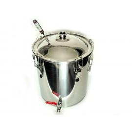 "Куб (бак) ""Магнум"" для самогонного аппарата кастрюльного типа на защелках"